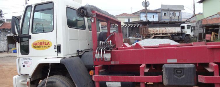 Transporte de caçambas SP